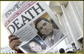 people v scott peterson essay Proposed fetal protection legislation for hawaii scott peterson was convicted of the murders of laci peterson and her fetus conner people v.